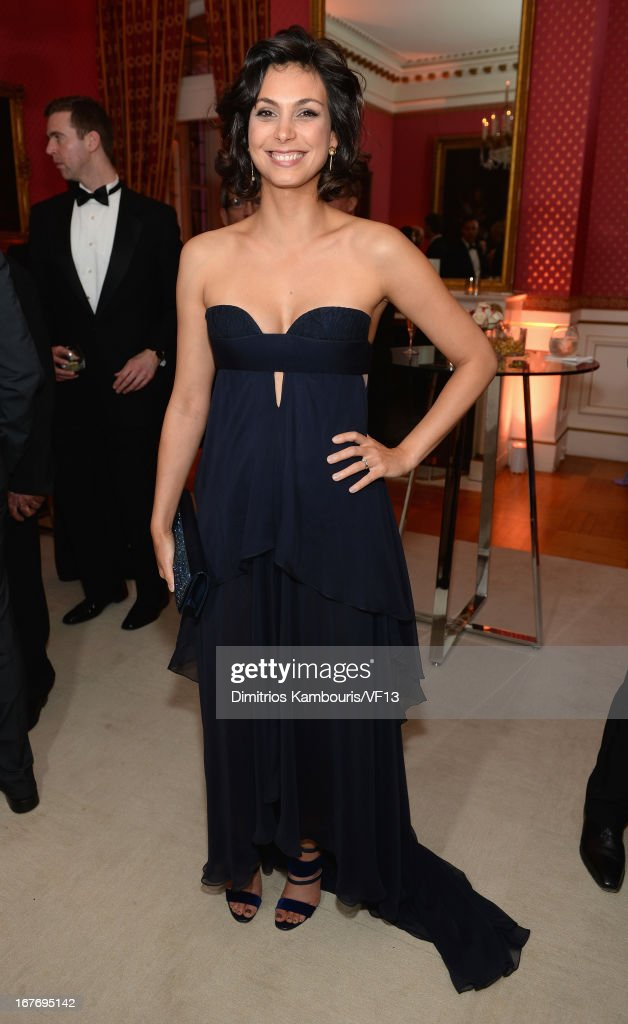 Morena Baccarin attends the Bloomberg & Vanity Fair cocktail reception following the 2013 WHCA Dinner at the residence of the French Ambassador on April 27, 2013 in Washington, DC.