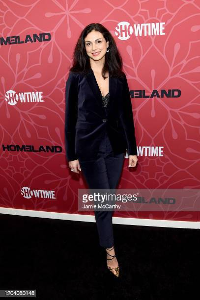 Morena Baccarin attends the Homeland Season 8 Premiere at Museum of Modern Art on February 04 2020 in New York City