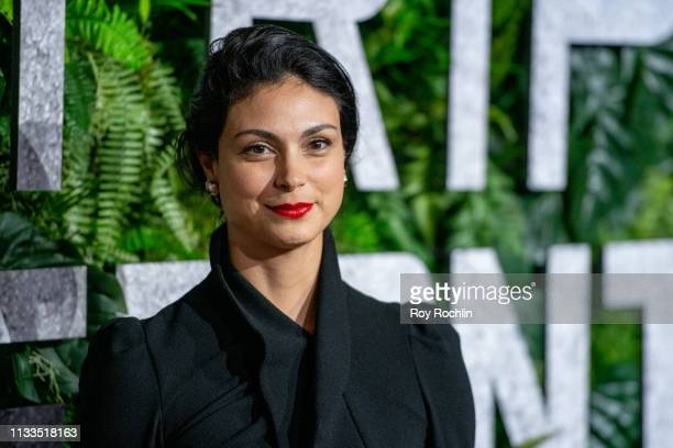 """Morena Baccarin attends the """"Triple Frontier"""" World Premiere at Jazz at Lincoln Center on March 03, 2019 in New York City."""