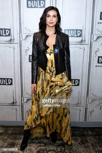 Morena Baccarin visits Build Studio on November 15 2018 in New York City