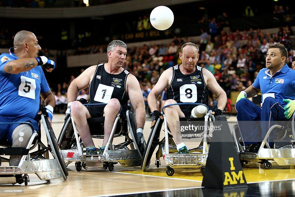 Invictus Games - Day Two - Wheelchair Rugby : Foto di attualità