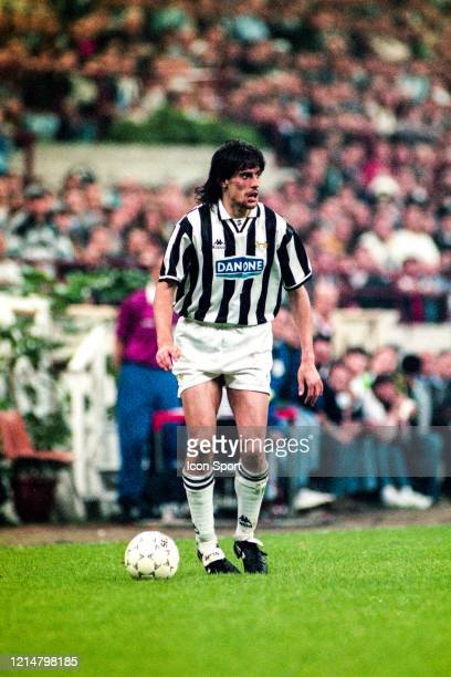 Moreno TORRICELLI of Juventus during the UEFA Cup Final second leg match between Juventus Turin and Parma at Stadium San Siro Milan Italy on 17th May...