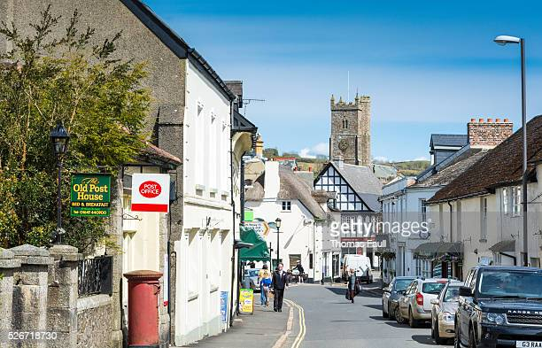 Moretonhampstead Post Office and High Street