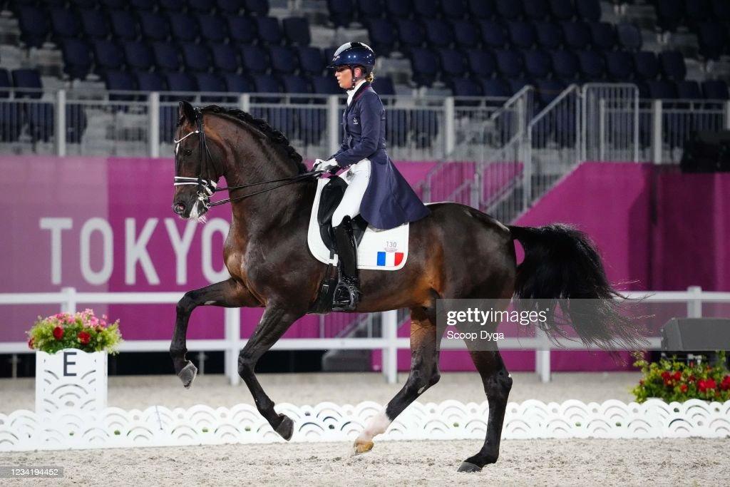 Morgan Barbancon of France riding Sir Donnerhall II Old during the...  Fotografía de noticias - Getty Images