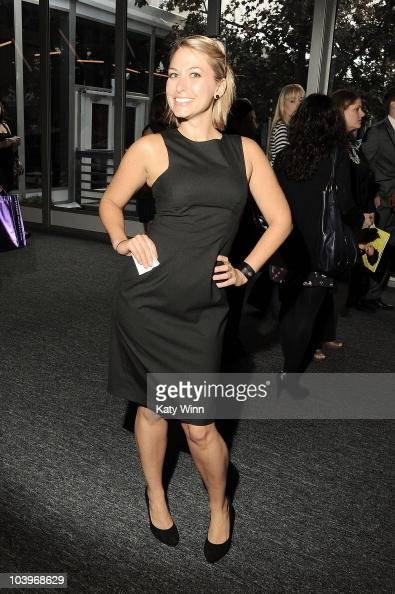 Morgan Brennan is seen around Lincoln Center during Mercedes