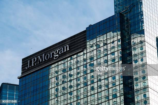 jp morgan building - j p morgan stock pictures, royalty-free photos & images