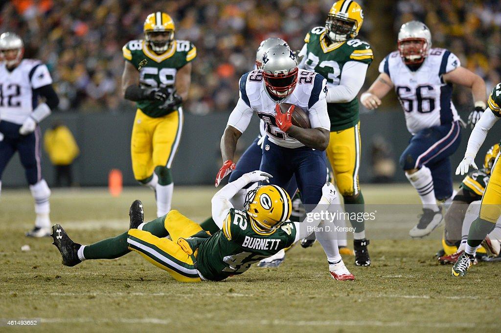 New England Patriots v Green Bay Packers : News Photo