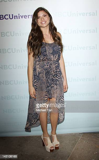 Morgan Eastwood arrives at the 2012 NBC Universal Summer press day hled at The Langham Huntington Hotel and Spa on April 18 2012 in Pasadena...
