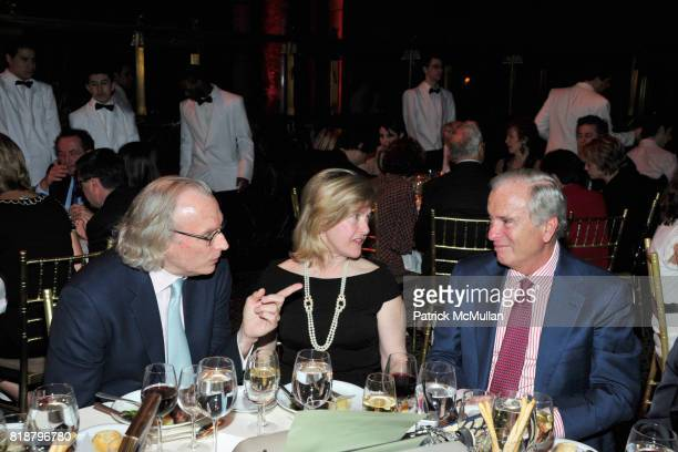 Morgan Entrekin Dr Mary Coffey and Ken Auletta attend PARIS REVIEW BOARD OF DIRECTORS REVEL 2010 at Cipriani on April 13 2010 in New York City