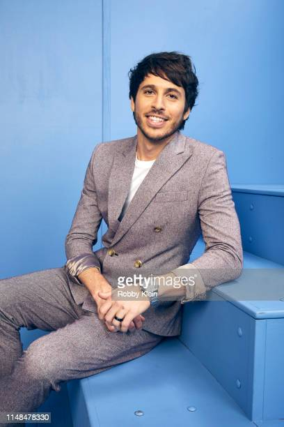 Morgan Evans poses for a portrait during the 2019 CMT Music Awards at Bridgestone Arena on June 5 2019 in Nashville Tennessee