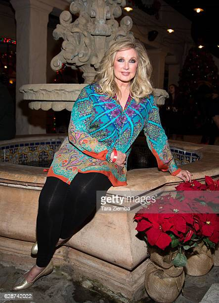 Morgan Fairchild attends the Lythgoe Family Panto's 'A Cinderella Christmas' at Pasadena Playhouse on December 8 2016 in Pasadena California