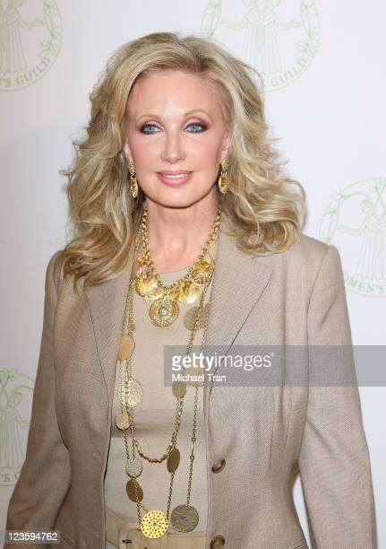 Morgan Fairchild attends The Women's Guild annual membership luncheon held at The Beverly Hills Hotel on May 13 2011 in Beverly Hills California