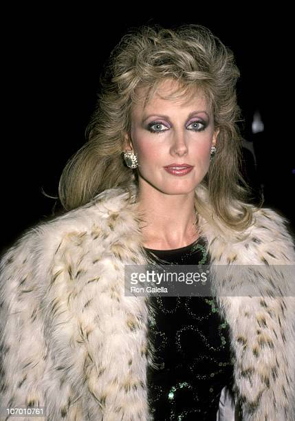 Morgan Fairchild during Hollywood Women's Political Committee Honors Walter Mondale Geraldine Ferraro October 16 1984 at Beverly Hilton Hotel in...