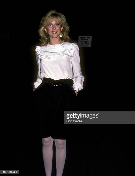 Morgan Fairchild during Morgan Fairchild at a Taping of The Merv Griffin Show at Metromedia Square in Los Angeles California United States