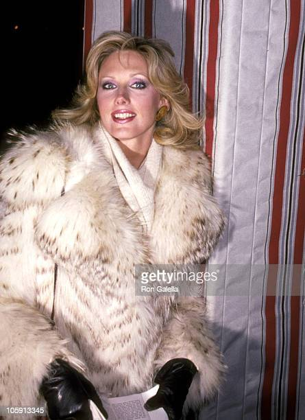Morgan Fairchild during Party Honoring Pauline Trigere at Dionysos Restaurant in New York City New York United States