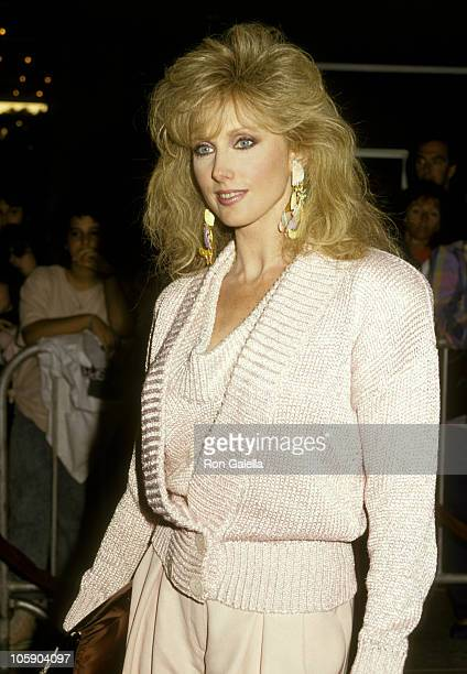 Morgan Fairchild during Roxanne Los Angeles Premiere at Plitt Theater in Los Angeles California United States