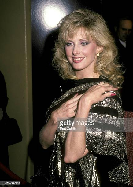 Morgan Fairchild during 'The High Road to China' Los Angeles Premiere at Westwood Village Theater in Westwood California United States