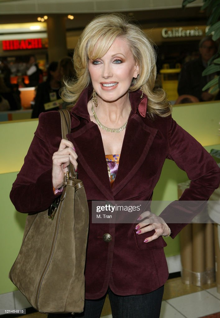 Morgan Fairchild during The Screen Actors Guild Foundation and Zimand Entertianment Host Los Angeles Children's Love Equals Writing Contest at Beverly Center in Los Angeles, California, United States.