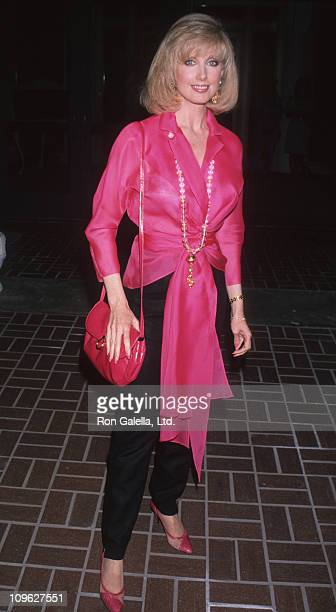 Morgan Fairchild during Universal Studios Private Party at the Grand Cypress Resort June 6 1990 at Grand Cyprus Resort in Orlando Florida United...