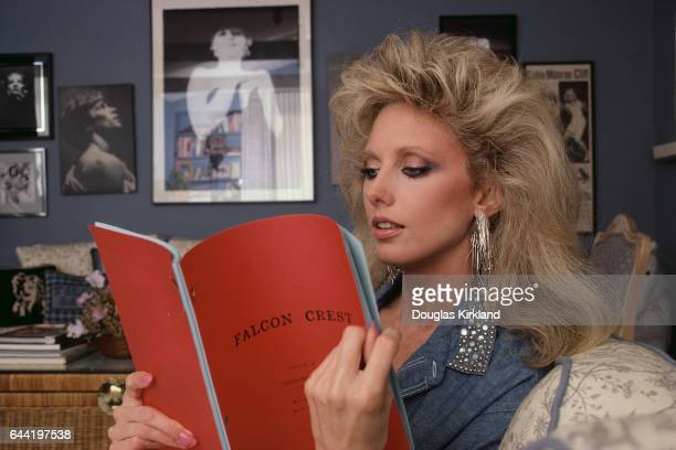 Morgan Fairchild Reading Falcon Crest Script