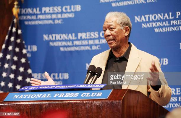 Morgan Freeman, actor and founder of the Grenada Relief Fund, discusses the impact of severe storms and hurricanes in the Gulf of Mexico, Atlantic...