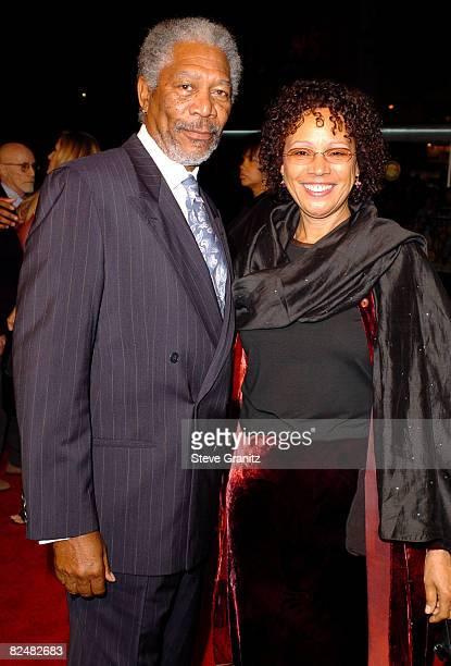 Morgan Freeman and wife Myrna Colley-Lee