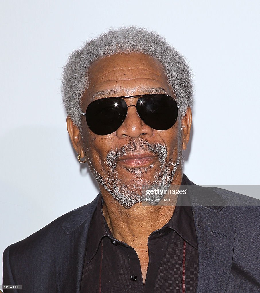 Morgan Freeman arrives to the 21st Annual PGA Awards held at the Hollywood Palladium on January 24, 2010 in Hollywood, California.