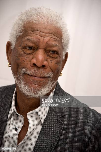 Morgan Freeman at the 'Going in Style' Press Conference at the Whitby Hotel on March 25 2017 in New York City
