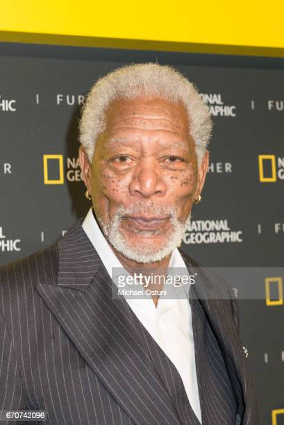 Morgan Freeman attends National Geographic FURTHER FRONT at Jazz at Lincoln Centerâs Frederick P Rose Hall on April 19 2017 in New York City