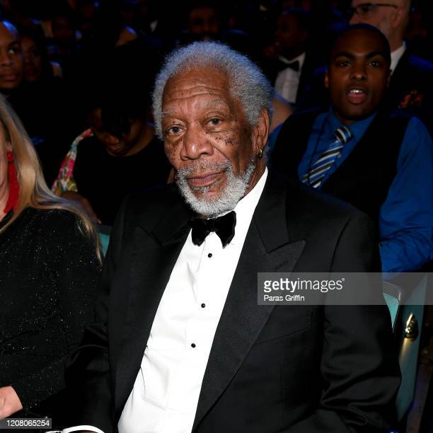 Morgan Freeman attends the 51st NAACP Image Awards Presented by BET at Pasadena Civic Auditorium on February 22 2020 in Pasadena California