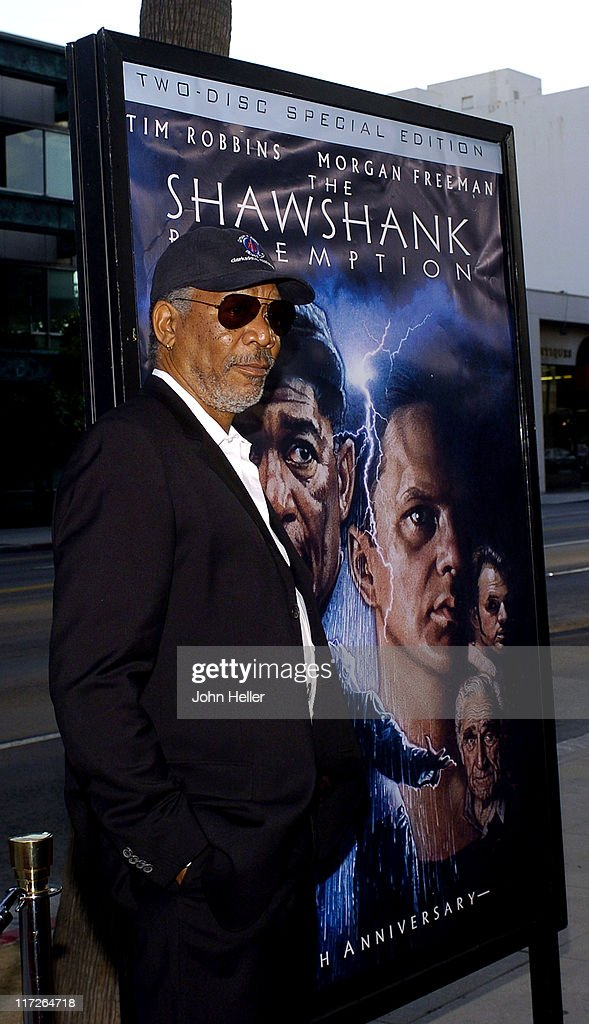 Morgan Freeman during 10th Anniversary Screening of The Shawshank Redemption - September 23, 2004 at Academy of Motion Picture Arts and Sciences in Beverly Hills, CA, United States.