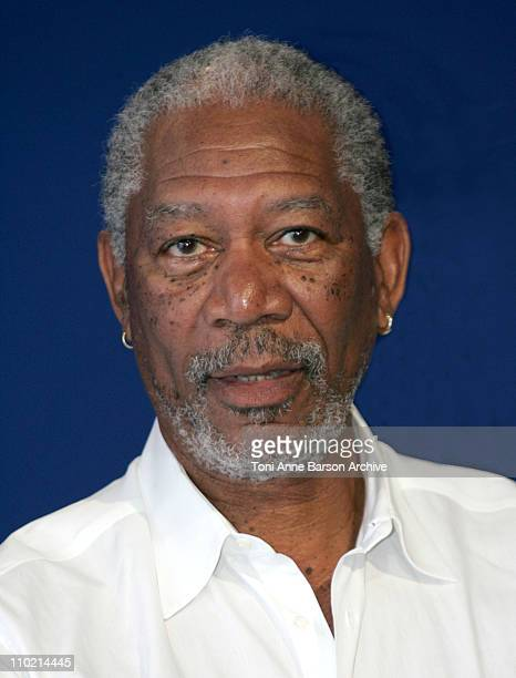 Morgan Freeman during 30th Deauville American Film Festival Tribute to Richard D Zanuck Photocall at CID in Deauville France