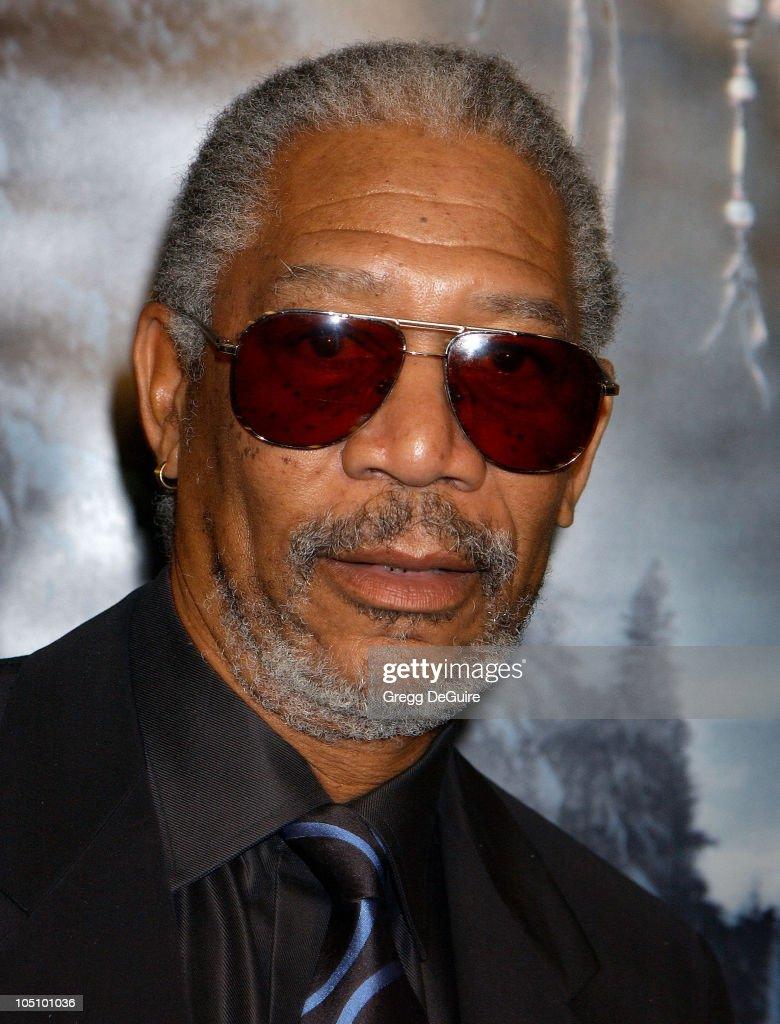 Morgan Freeman during 'Dreamcatcher' Premiere at Mann Village Theatre in Westwood, California, United States.