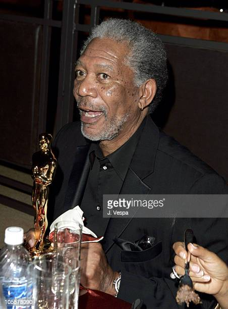 Morgan Freeman during The 77th Annual Academy Awards Governors Ball at Kodak Theatre in Hollywood California United States
