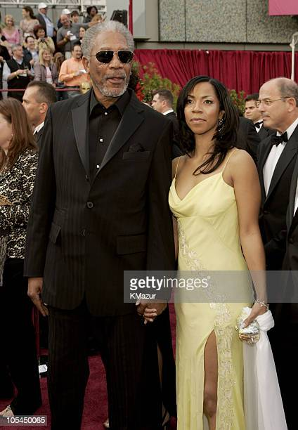 Morgan Freeman winner Best Actor in a Supporting Role for Million Dollar Baby and daughter Morgana