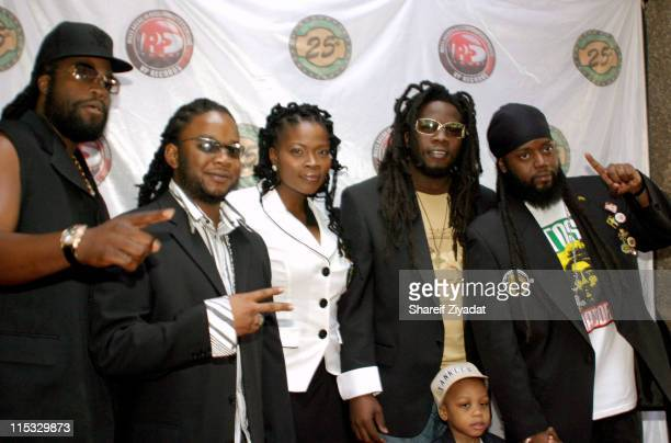 Morgan Heritage during VP Records 25th Anniversary - Arrivals and Concert at Radio City Music Hall in New York City, New York, United States.