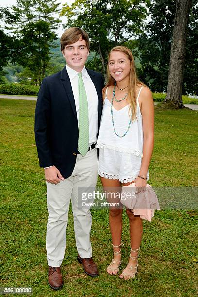 Morgan HillEdgar and Annie Lord attend Hyde Hall Honors Christopher Ohrstrom and Steven Larson at The Grand Tour Summer Gala at Hyde Hall on July 30...