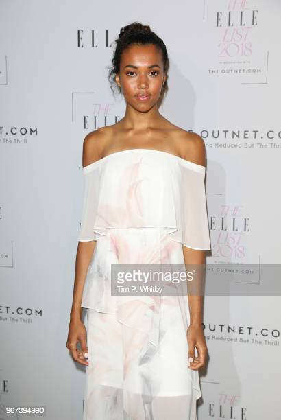 Morgan Lake attends The ELLE List 2018 at Somerset House on June 4 2018 in London England