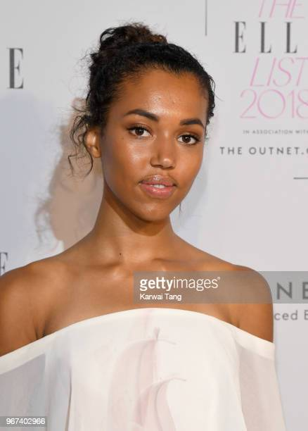 Morgan Lake attends The ELLE List 2018 at Spring at Somerset House on June 4 2018 in London England