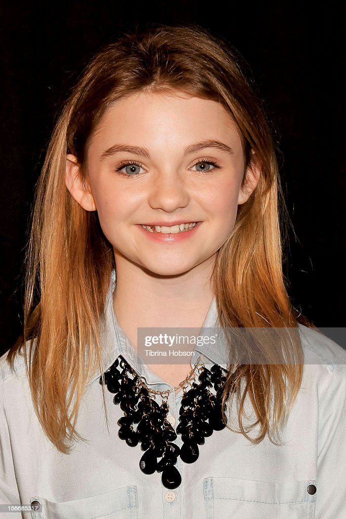 Morgan Lily attends the 2nd annual Dream Magazine winter wonderland Eevent at TDJ Studios on November 18, 2012 in North Hollywood, California.