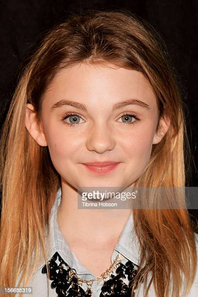 Morgan Lily attends the 2nd annual Dream Magazine winter wonderland Eevent at TDJ Studios on November 18 2012 in North Hollywood California