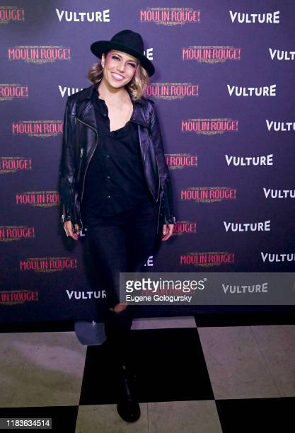 Morgan Marcell attends the Vulture And Moulin Rouge The Musical Present A Spectacular Spectacular Moulin Rouge The Musical Album Release on October...