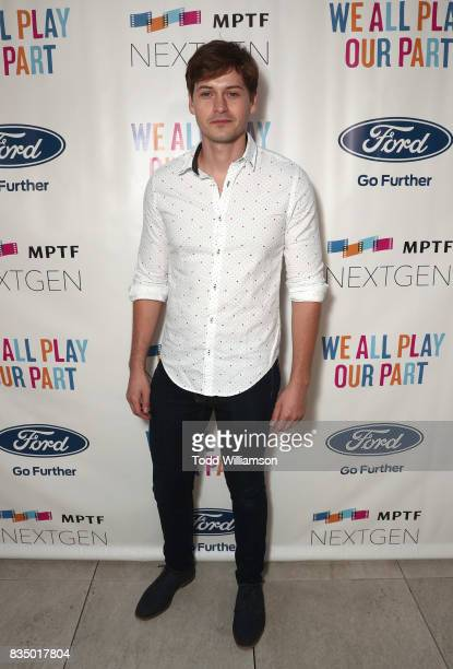 Morgan McClellan attends MPTF's NextGen Summer Party at NeueHouse Hollywood on August 17 2017 in Los Angeles California