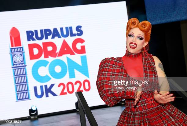 Morgan McMichaels attends RuPaul's DragCon UK presented by World Of Wonder at Olympia London on January 18 2020 in London England