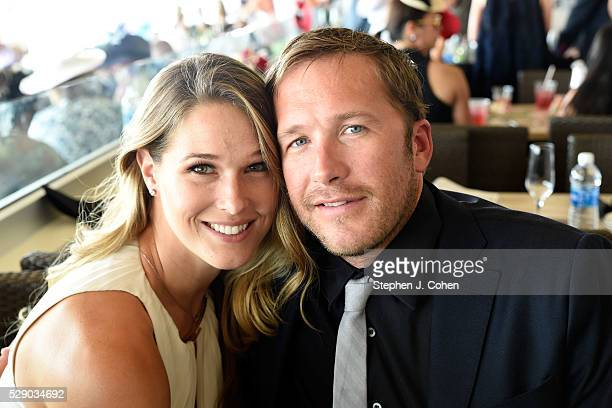 Morgan Miller and Bode Miller attends The 142nd Kentucky Derby at Churchill Downs on May 7 2016 in Louisville Kentucky