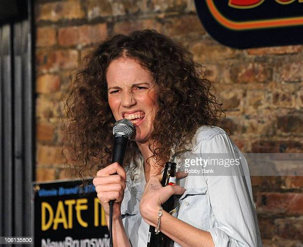 Morgan Murphy performs at The Stress Factory Comedy Club on September 30, 2010 in New Brunswick, New Jersey.