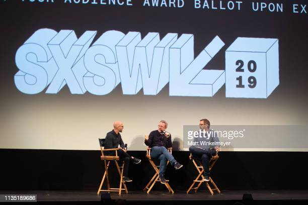 Morgan Neville and Jeff Malmberg attend the Shangri-La Premiere 2019 SXSW Conference and Festivals at Paramount Theatre on March 11, 2019 in Austin,...