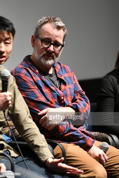 Morgan Neville attends the Film Independent Directors CloseUp Another Type Of Narrative The Truth Of Docs at The Landmark on February 13 2019 in Los...