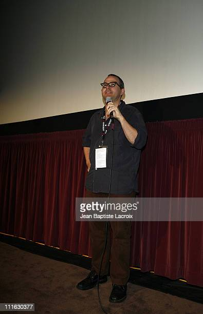 Morgan Neville Director during 2007 Los Angeles Film Festival The Cool School Screening at Mann Festival in Westwood California United States