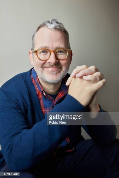 Morgan Neville from the film 'Won't You Be My Neighbor' poses for a portrait at the YouTube x Getty Images Portrait Studio at 2018 Sundance Film...